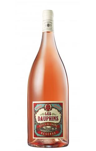 Les Dauphins Côtes du Rhône Réserve Rosé Magnum