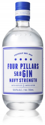 Four Pillars Navy Strength Gin - Collection Spirits