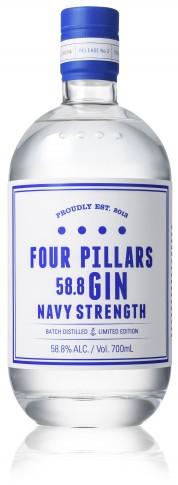Four Pillars Navy Strength Gin - Collection Spirits