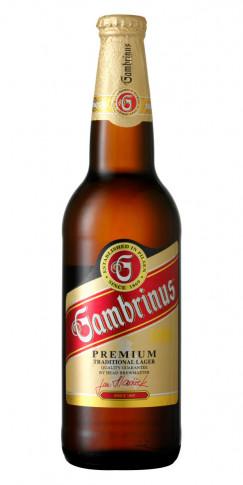 Gambrinus 500 ml flaska