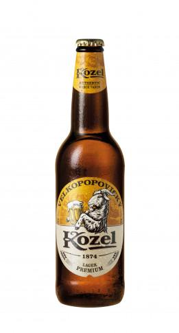 Kozel Premium Lager 500 ml flaska