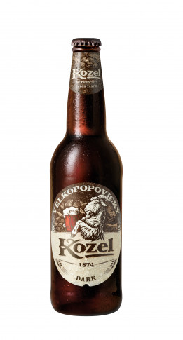 Kozel Dark 500 ml flaska