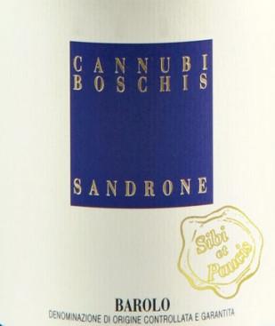 Barolo Cannubi Boschis 2010 Sibi et Paucis [NYHET]
