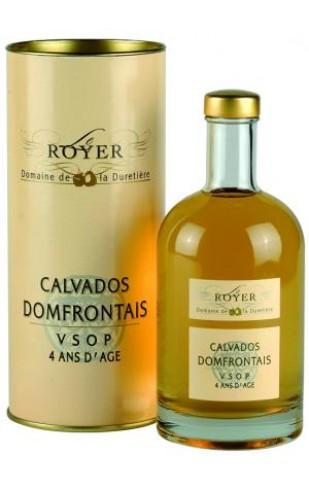 Le Royer Calvados Domfrontais VSOP 4 Ans d'Age
